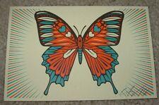 ERNESTO YERENA Silkscreen Print MARIPOSA Handbill poster shepard fairey