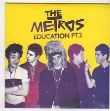 (EY935) The Metros, Education Pt 2 - 2008 DJ CD