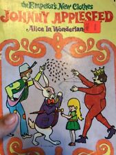 Vintage Famous Fairy Tales To Color Coloring Book Johnny Appleseed