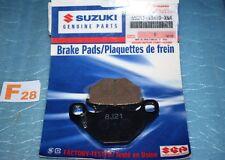 2 plaquettes de frein d'origine SUZUKI GS 450 S GN 125 GS 125 GSX 400 F
