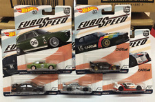 ~EURO SPEED~ 2018 HOT WHEELS CAR CULTURE Car Project Real Riders 5 Set