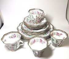COALPORT Indian Tree OLD VERSION 1801 16pcs Bone China SET No Chip or Crack