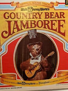Country Bear Jamboree LP,Walt Disney Vinyl Record Original Soundtrack 1972