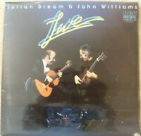 JULIAN BREAM & JOHN WILLIAMS LIVE 1979 DOUBLE VINYL LP RL 03090(2) VG+/VG+