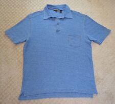 NWOT Men's Lenor Romano Blue Polo Shirt-size XXL