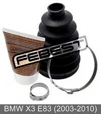 Boot Outer Cv Joint Kit 83X122X24 For Bmw X3 E83 (2003-2010)