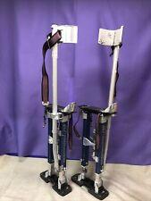 QLT by Marshalltown Adjustable Drywall Painter Walking Stilts ST18 Light Use