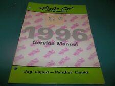 Nos Arctic Cat snowmobile Liquid Jag, Liquid Panther service manual