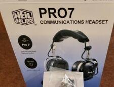 HEIL SOUND PROSET 7 CUFFIA MICROFONO PER RADIO HF IN STILE AVIO USATO PERFETTO