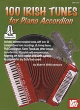 100 Irish Tunes for Piano Accordion Sheet Music Book with Audio Session Tunes