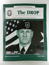 """GREEN BERET"" THE DROP MAGAZINE, WINTER 2000 ISSUE, SPECIAL FORCES ASSOCIATION"