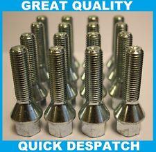 20 x M14 x 1.5 50 mm di lunghezza estesa BULLONI CERCHI IN LEGA ADATTA AUDI TT MK1 98-05