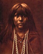 Mohave Girl 15x22 Edward S.Curtis Native American Art Photograph
