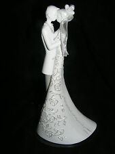 Romantic White Wedding Cake Topper- First Dance by Gina Freehill from Roman- NIB