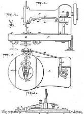 Alte/Antike Nähmaschine: SINGER - Infos 1851-1919