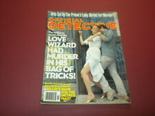 OFFICIAL DETECTIVE magazine 1978 March TRUE CRIME MURDER POLICE CASES