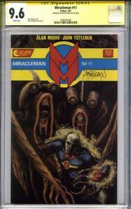 MIRACLEMAN #11 CGC 9.6 SS JOHN TOTLEBEN (1st print)