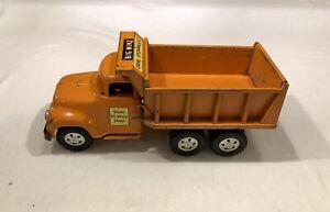 1957 Tonka State Hi-Way 'Big Mike' Dual Hydraulic Ford Tandem Dump Truck No. 42