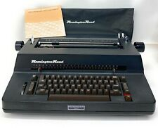 Vintage Remington Rand Electric Single Element Font Ball Typewriter Model 101