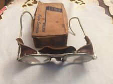 Vintage safety glasses Willson,steampunk, motorcycle,spectacles