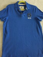 Hollister Mens Blue Polo Shirt. Size Medium. Good Condition