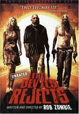2pc Set Rob Zombie Devils Rejects American Horror-Crime Thriller Film Movie DVD