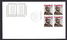 Canada  FDC  # 661    ALPHONSE  DESJARDINS     1975  LLpb  New Fresh Unaddressed