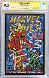 S864. MARVEL COMICS #1000 CGC 9.8 NM/MT (2019) Cover & Signature by MATT DiMASI