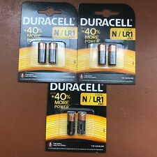 6 x DURACELL N MN9100 1.5V Alkaline Batteries LR1 E90 AM5 KN Longest Expiry UK