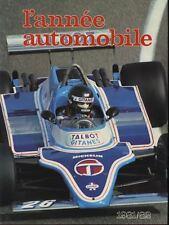 L'année automobile n°29 1981-1982