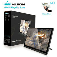 USED Huion KAMVAS GT-191 Digital Graphics Drawing Monitor 8192 Pen Display 19.5'