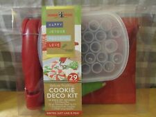NEW Nordic Ware Delux Frosting Cookie Deco Kit Decorating To