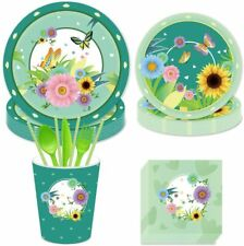 Spring Butterfly Party Supplies for 16 People Firefighter Party Decorations_Incl