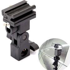 Flash Light Swivel Bracket Shoe Stand Mount Umbrella Holder Type B Adapter New