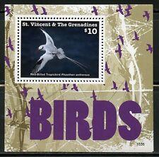 ST. VINCENT GRENADINES  2016  BIRDS SOUVENIR SHEET   MINT NH