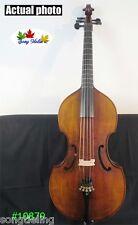"SONG Brand baroque style viola da gamba 25 1/4"" 5 strings. great sound #10879"