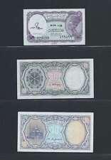 Egypte Lot de 3 billets différents   Lot N° 1