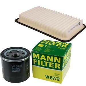 MANN-Filter Set Ölfilter Luftfilter Inspektionspaket MOL-9693318