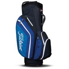 NEW 2017 Titleist Light Weight Black/Blue/White Cart Golf Bag