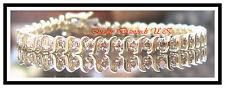 GENUINE 2 CTW DIAMOND TENNIS BRACELET YELLOW GOLD NEW !