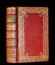 1777 Scarce French Latin Book in beautiful BINDERY WORK - Office de PAQUE Easter
