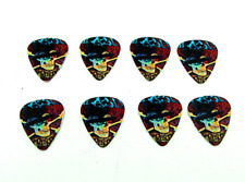 12 plettri Slash Guns N' Roses teschi skull guitar picks 1.00mm heavy