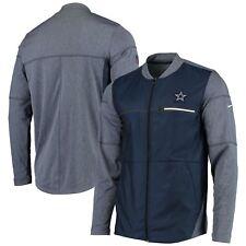 1eabe87b7 Dallas Cowboys Men s Nike Sideline Shield Hybrid Jacket - Navy