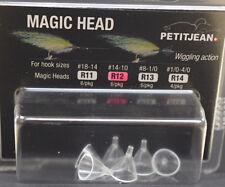 Marc Petitjean 6 St. MAGIC HEAD round R12 Hakengr. #14 - #10 MAGIC HEAD R12