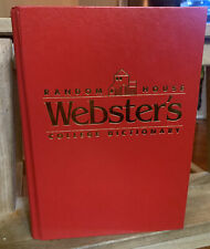 Random House Websters College Dictionary 1991