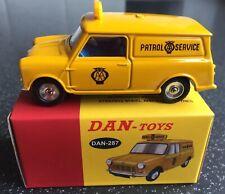 Dinky Toys 274/Dan Toys 287 AA Patrol Service Mini Van, Super Quality!
