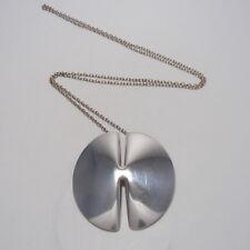 Georg Jensen Pendant Necklace #337A Nanna Ditzel Sterling Silver 925
