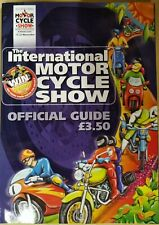 1998 12 - 22 NOV 36113 BIRMINGHAM  THE INTERNATIONAL MOTOR CYCLE  SHOW GUIDE