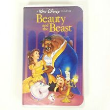 Walt Disney Classic Beauty and the Beast VHS Black Diamond 1325