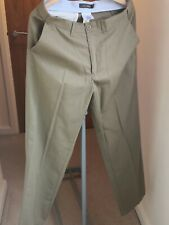 M And S Man Collection M&S Chino Tobacco Colour 34W 33L